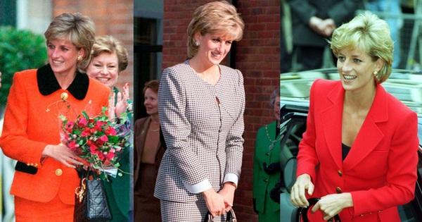 Những chiếc túi được đặt theo tên Công nương Diana