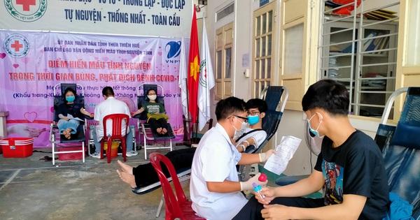 Thừa Thiên Huế triển khai điểm hiến máu cố định giữa mùa dịch COVID-19
