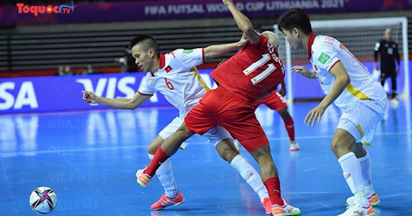 Chiến thắng Panama, mở ra cơ hội cho Futsal Việt Nam tiến sâu vào World Cup 2021