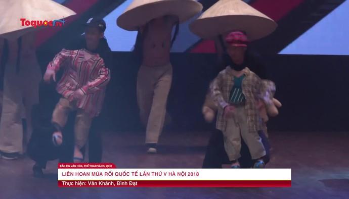 Liên hoan múa rối quốc tế lần thứ V Hà Nội 2018