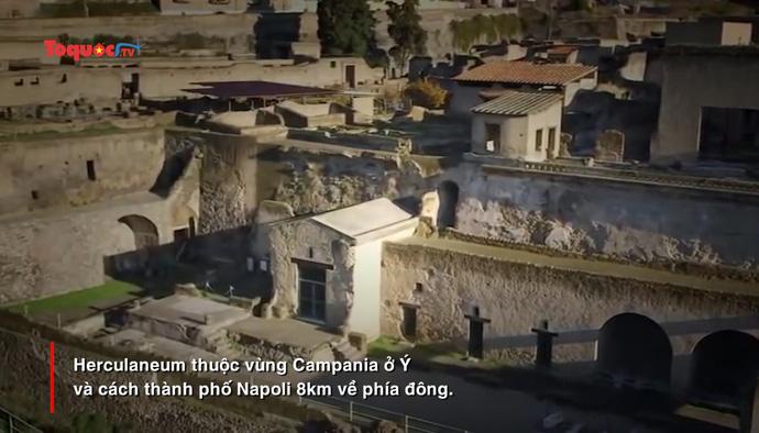 Ngôi nhà La Mã cổ đại ở Herculaneum mở cửa trở lại đón du khách sau 36 năm