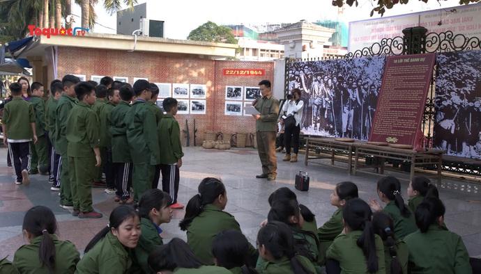 Giáo dục lịch sử cho học sinh từ bảo tàng
