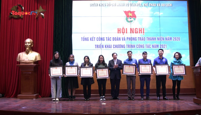 Xây dựng 5 trọng tâm trong công tác Đoàn TNCS Bộ VHTTDL năm 2021