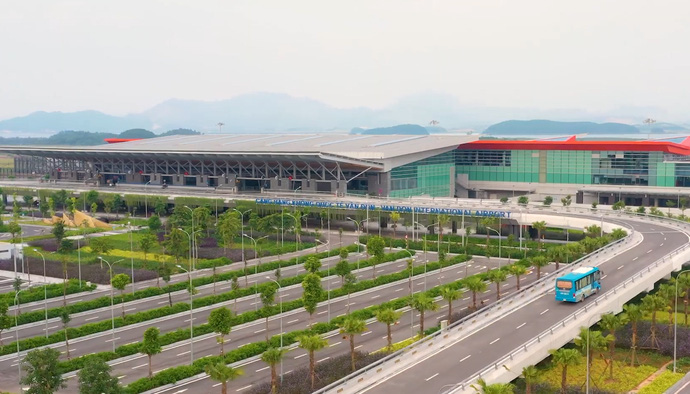 Prix Versailles trao giải đặc biệt thế giới về thiết kế ngoại thất cho sân bay quốc tế Vân Đồn