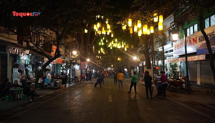 Mở rộng không gian phố đi bộ Hà Nội