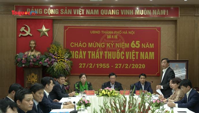 Bí thư Thành ủy Hà Nội Vương Đình Huệ: ''Cần tổ chức diễn tập phòng, chống dịch Covid-19''