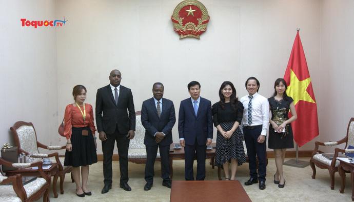 Việt Nam sẵn sàng đẩy mạnh hợp tác cùng Angola trong lĩnh vực VHTTDL