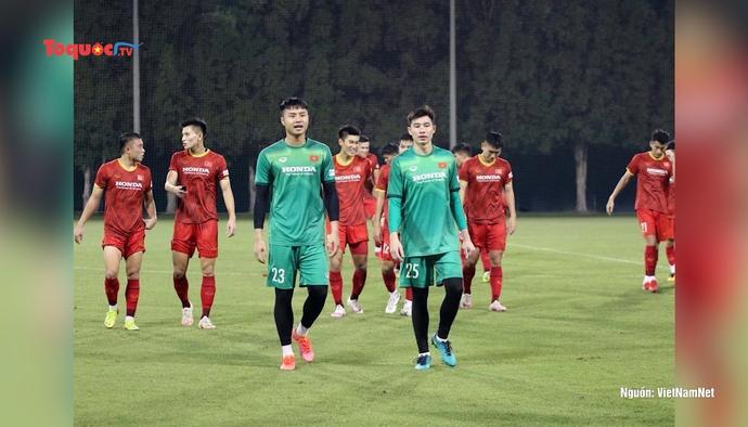 U23 Việt Nam tích cực chuẩn bị cho vòng loại U23 Châu Á 2022