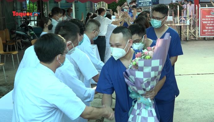 Bệnh viện Thể thao Việt Nam xuất quân lên đường chi viện cho Tp. Hồ Chí Minh