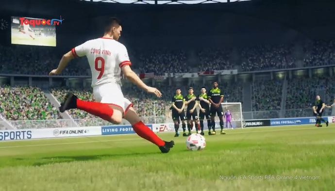 Hàng loạt huyền thoại bóng đá VIệt Nam xuất hiện trong Fifa online 4