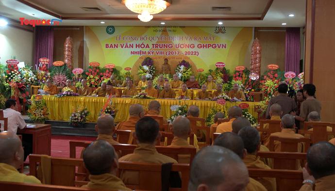 Ra mắt Ban Văn hóa Trung ương Giáo hội Phật giáo Việt Nam nhiệm kỳ 2017 – 2022