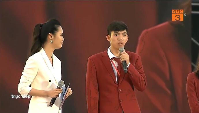 Kình ngư 18 tuổi Nguyễn Huy Hoàng chia sẻ những khó khăn trên chặng đường chinh phục tấm HCB Asiad 18