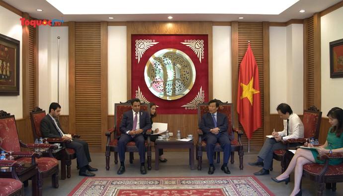 Thúc đẩy hơn nữa hợp tác Văn hóa, Du lịch giữa Việt Nam và UEA